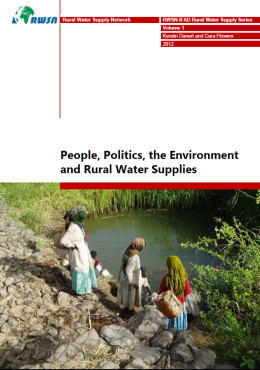 Book Cover: People, Politics, the Environment and Rural Water Supplies