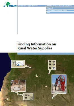 Book Cover: Finding Information on Rural Water Supplies