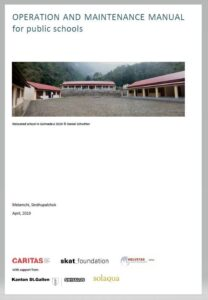 Book Cover: Operation and Maintenance Manual for public schools