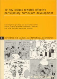 Book Cover: 10 key stages towards effective participatory curriculum development